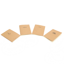 OEM a5 souvenir retro four lined paper line notebook