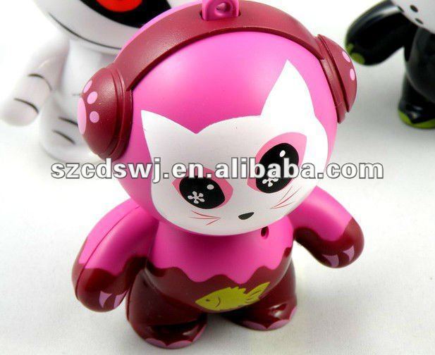 21 century most lovely cartoon shape mini speaker