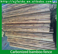 FD -16408 Natural Carbonized bamboo fence/ high quality best price & wholesale