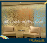 10.38mm Fabric Laminated Glass for Decoration and Partition