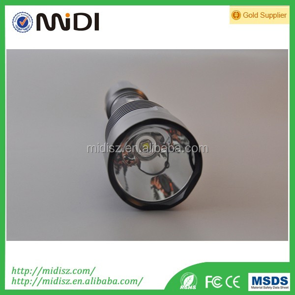 Advertising Military usage led torch use Metal cover for waterproof