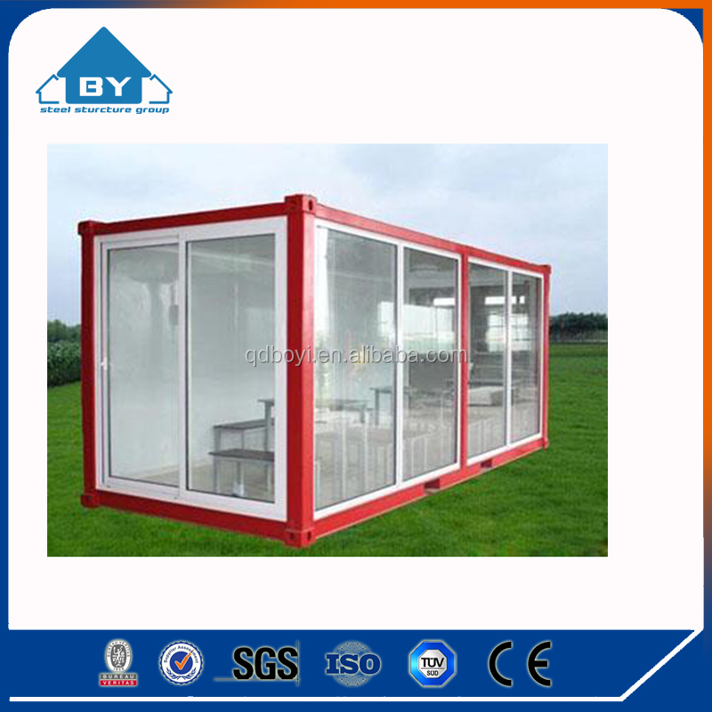 Very durable colorful Steel Structure Container house (BY-W364)