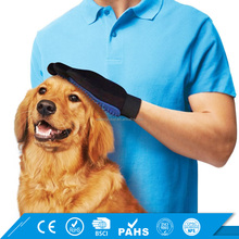 Bathing Shedding Mitts Brush Cat Dog Fur Hair Remover Pet Grooming Glove
