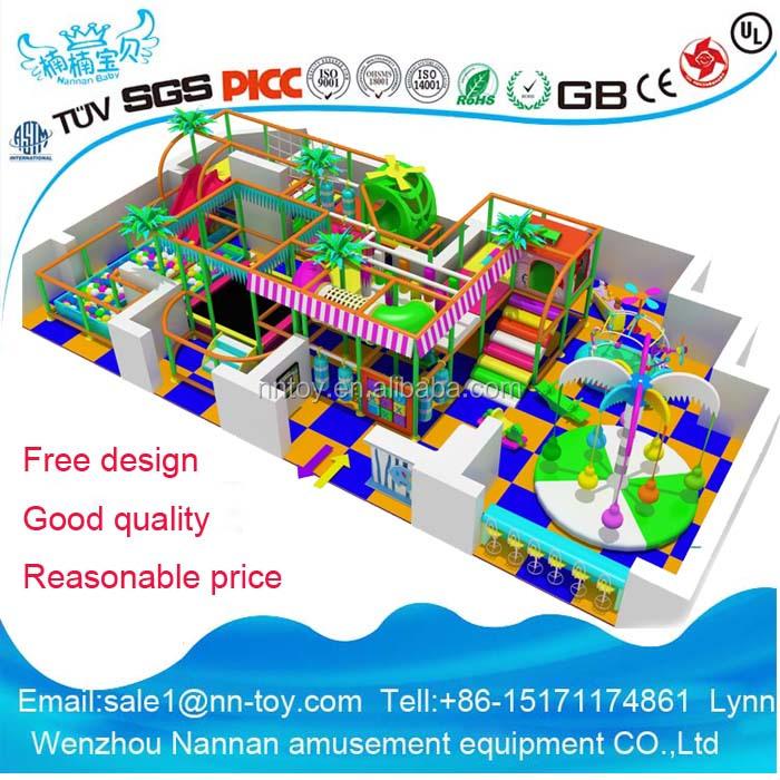 Children amusement park equipment indoor playground for Indoor play structure prices