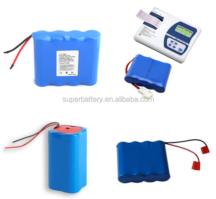 Flat top round rechargeable 18650 lithium ion battery 3.7V 2400mAh