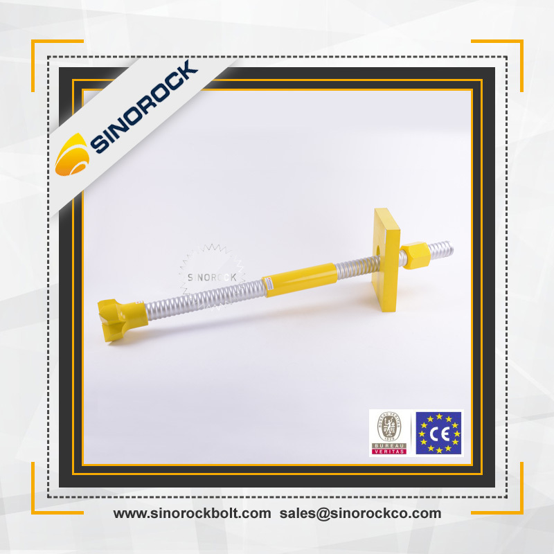 SINOROCK high quality tunneling ibo self drilling hollow rock bolt