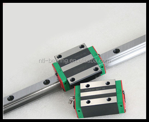 HIWIN brand HGW35CA linear block bearing and HGR35 guide rail