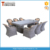 Modern dining set table and chair garden furniture outdoor rattan sofa