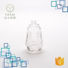 30ml high quality perfume clear french dog shape glass bottle manufacturer