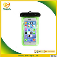 hot selling PVC colorful waterproof phone bag