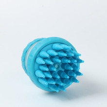 Pet Bath Brush Silicon Brush for Massaging The Pet Easy to Assemble and Disassemble Pet Massage Brush