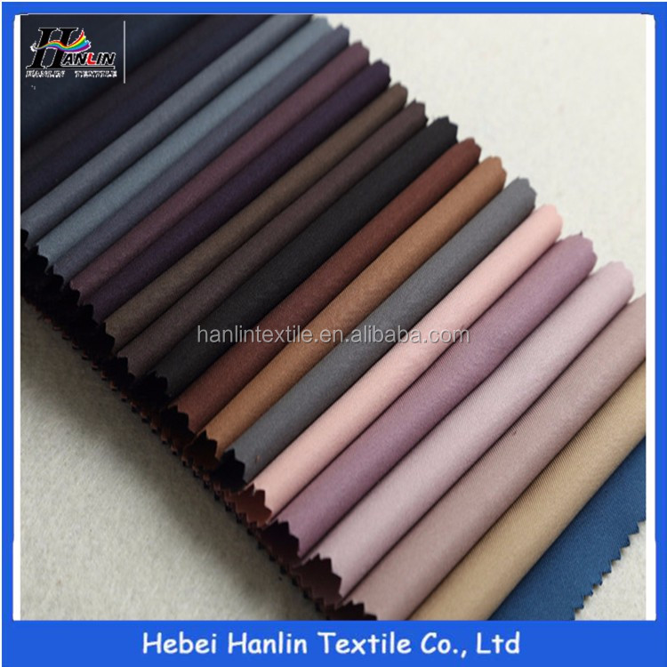Bottom Price Basic 230grams Tr Solid Men/Tr Twill Suiting Fabric Packing By Bouble Board