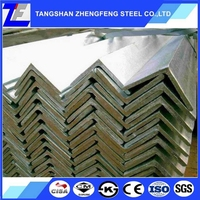 China manufacuturer high quality s235jr galvanized steel angle iron