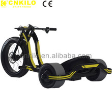 New Design Patent CE approved 48v 1000w 3 wheel Fat tire Electric/Elektrische Drift Trike,Elektric Drifting Scooter For Adults.