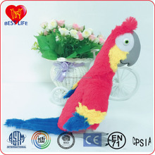 Custom Stuffed Plush parrot Plush Toys birds toys for children (PTAL1608042)