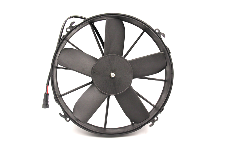 12V/24V Bus Auto Cooling System Dc Motor Condenser Fan For Yutong