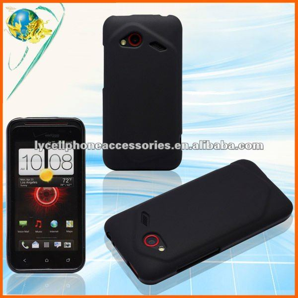 Black TPU Cover For HTC 6410 DROID INCREDIBLE 3 4G New Phone Silicone Gel Case
