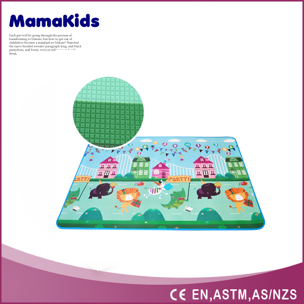 Baby toys kids play soft ground children custom baby play mat Baby crawl play cushion floor mat