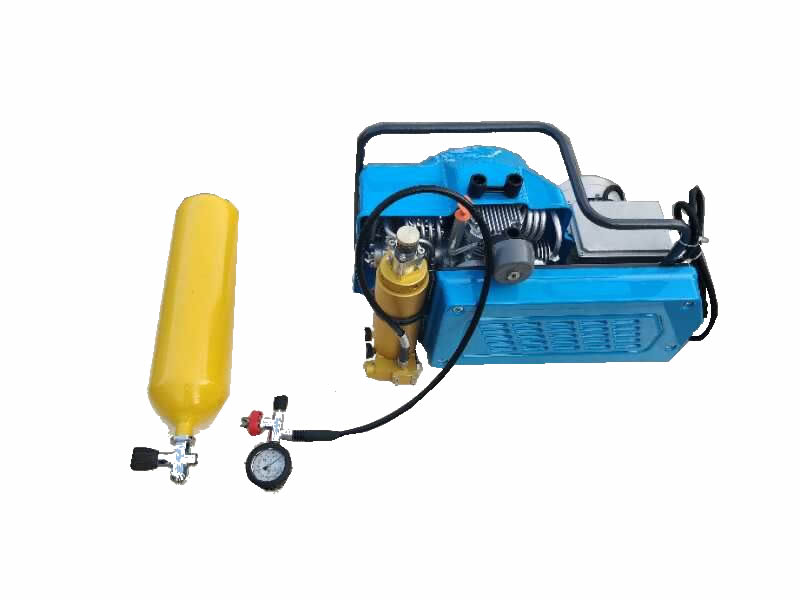 300bar 4500psi Scuba diving high pressure breathing air compressor  PE100T for scuba tank