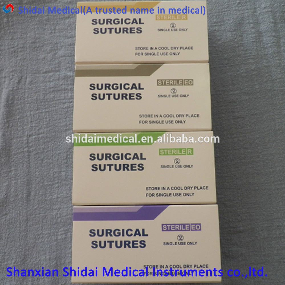 Absorable PDO Suture Lifting Threads for Face Skin Lifting