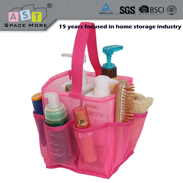 wholesale bathroom mesh shower caddy tote bag buy shower