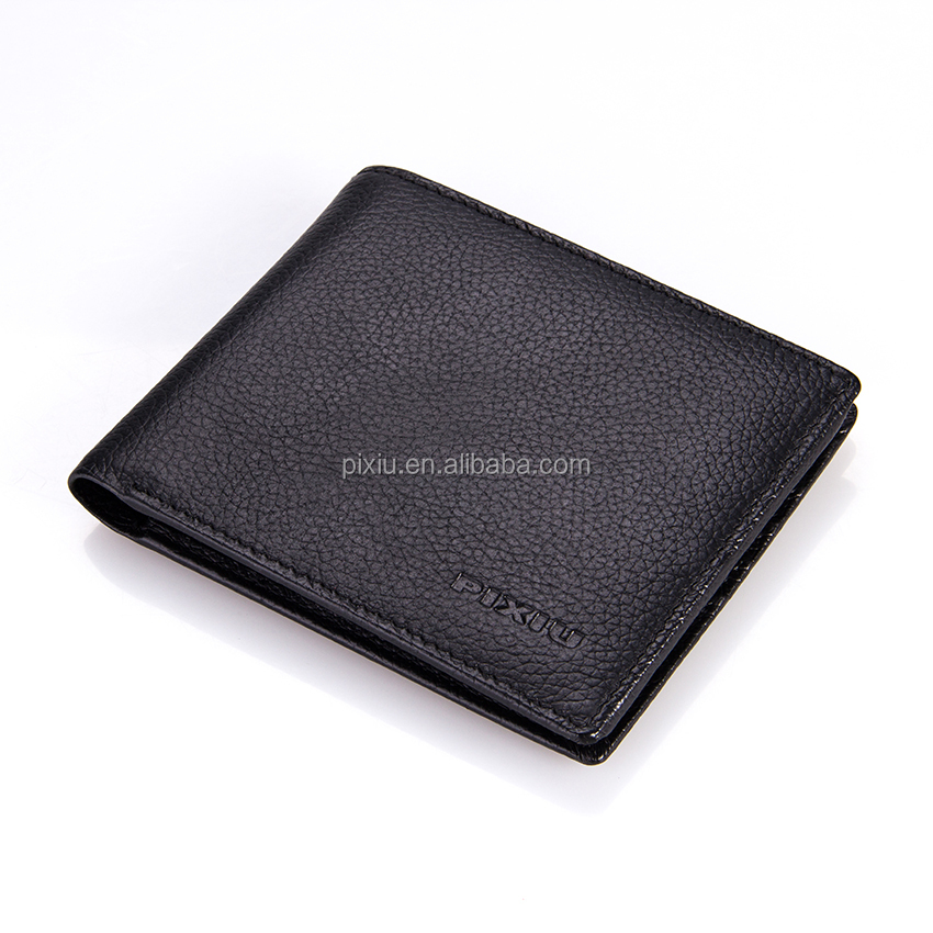 Experienced Manufacture Custom Logo Engraved Leather Wallet