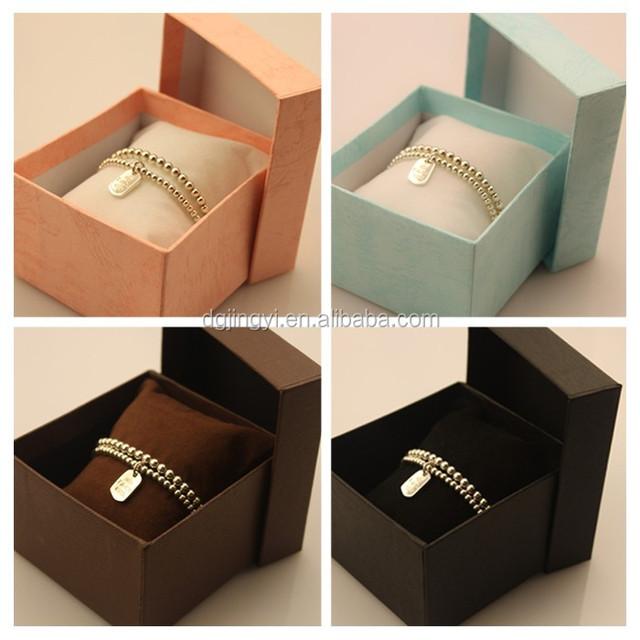 Simple promotion custom bracelet gift box/watch box