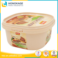 Food Container 32 oz. Printed IML Label, Disposable PP Container Custom Case