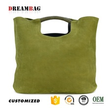 Shopping bag custom hot sell texas leather manufacturing handbags