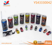 New style car toy .1:63 mini Remote control car with beverage can.High quality RC car