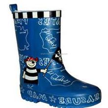 Newly designed colorful gril rubber fishing boots