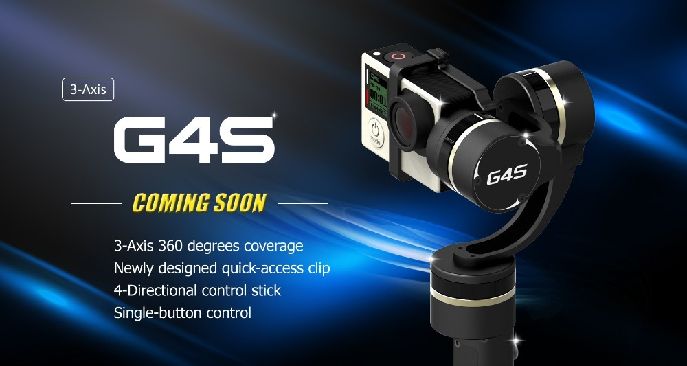 China Supplier Mini DSLR Camera Video LW-SS01M Handheld Gyro Stabilizer Gimbal