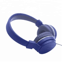 Promotional active noise-cancelling foldable wired sport stereo headphones for mobile phones/ Mp3 /Mp4 OS-MP180