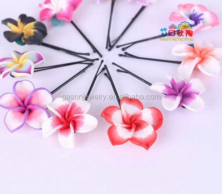 Cheap Daisy Flower Snap Clips Fashion Metal Hair Clip For Baby