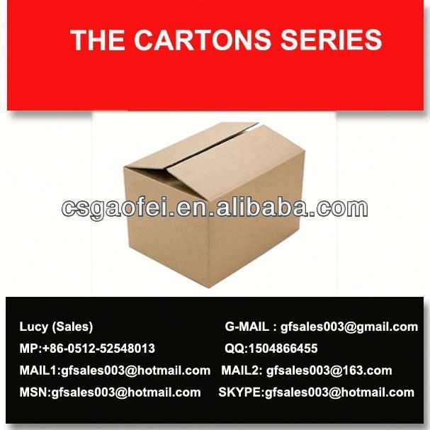 2013 best carton and cheapest cajas de carton para vino for carton using and promotion using