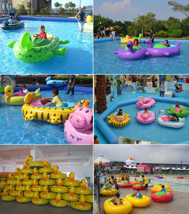 Inflatable Electric Bumper Boat for Children kids water toys bumper motor boat Normal tube FLBB-A30030