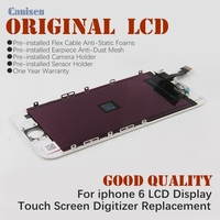 Original good price digitizer assembly 4.7 inch spare parts for iphone 6 lcd