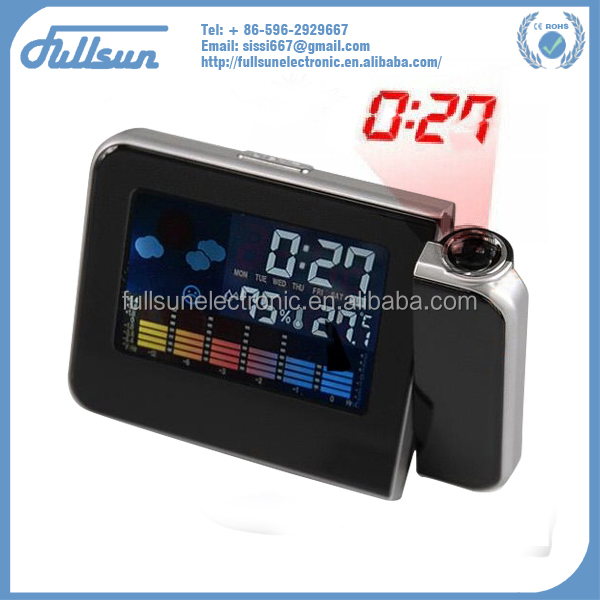 advanced dual power clock with alarm and projection FS-8190/812