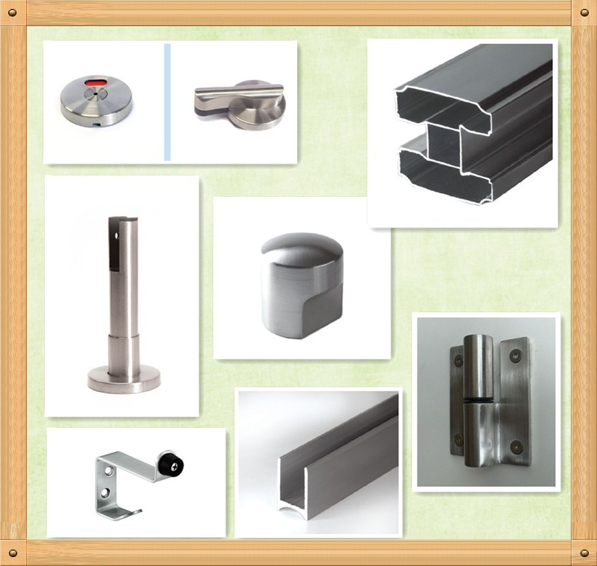 304 Stainless Steel Toilet Partition Accessories