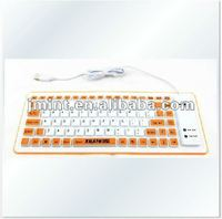 2012 best sellig pc silicon keyboard