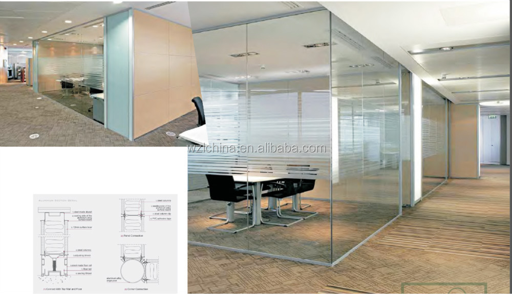 Used Cheap Office Partition Glass Wall - Buy Cheap Office ...