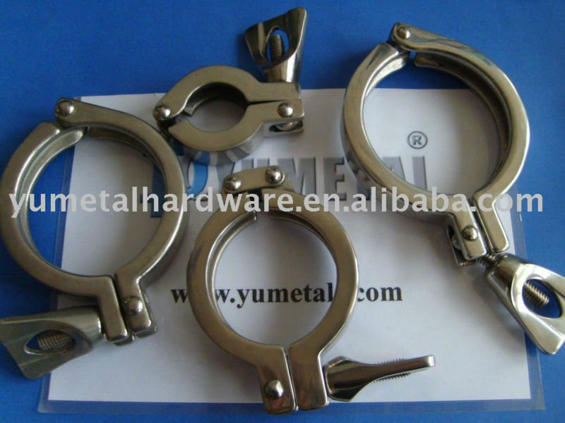 Stainless Steel Marine Quick Release Pipe Clamps