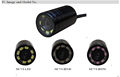 waterproof mini hidden infrared camera night vision underwater camera with led/ir lights