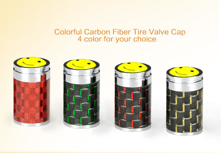BYC Tire Decoration Brand Logo Custom Tire Valve Caps For Car Bike Motor