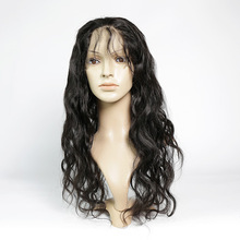 Can be dyed to any color 360 frontal lace wigs unprocessed virgin human hair closure straight 360 frontal lace closure