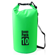 Wholesale aliba OEM Custom logo waterproof dry bag 500D PVC tarpaulin ocean backpack durable floating pack for swimming drifting