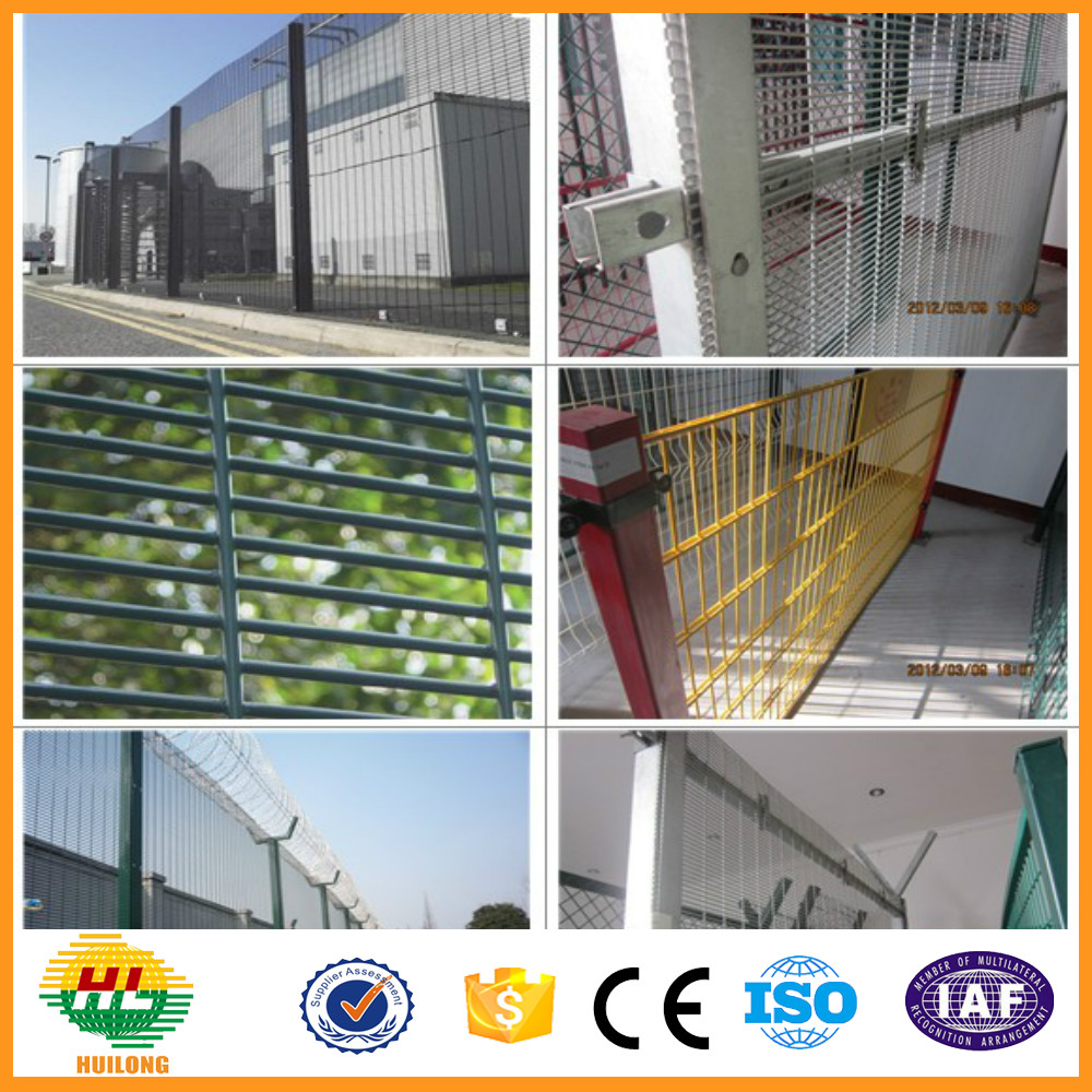 Wall Top Security Electric Fence Anti Climb Security Fence ISO9001 358 Security Fence