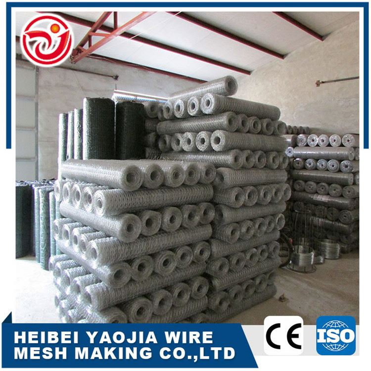 Manufacturer Promotional High Quality 1-1/2 ' galvanized 40mm chicken hexagonal wire mesh