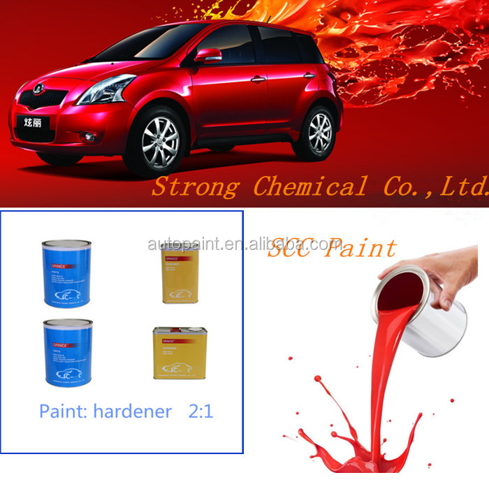 good coverage and easy use car body use red putty auto paint