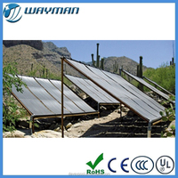 Davey plastic solar panel heater for swimming pool